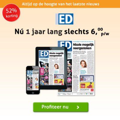 Eindhovens Dagblad jaar abonnement