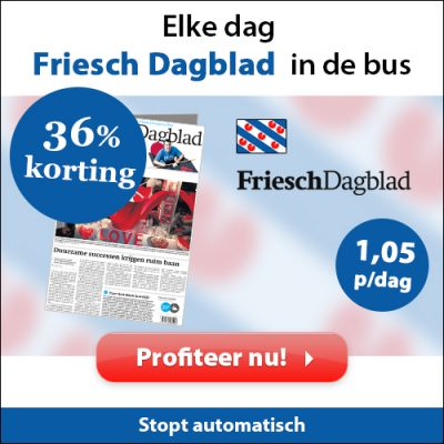 friesch dagblad abonnement korting