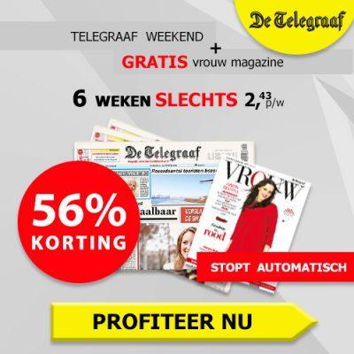 Telegraaf weekend
