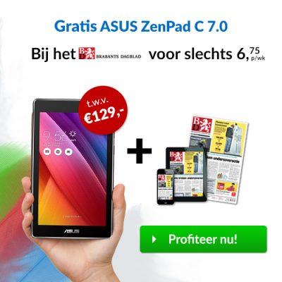 Brabants Dagblad gratis Asus Zenpad
