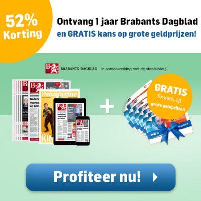 Brabants dagblad abonnement aanbieding korting
