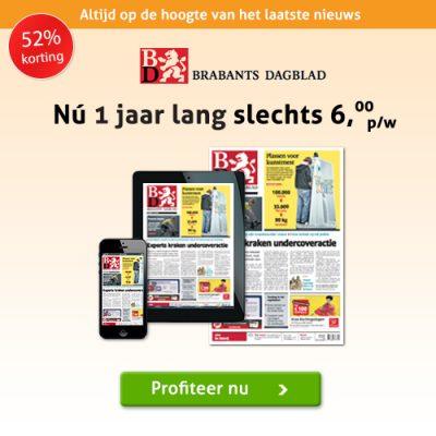 Brabants Dagblad jaar abonnement aanbieding