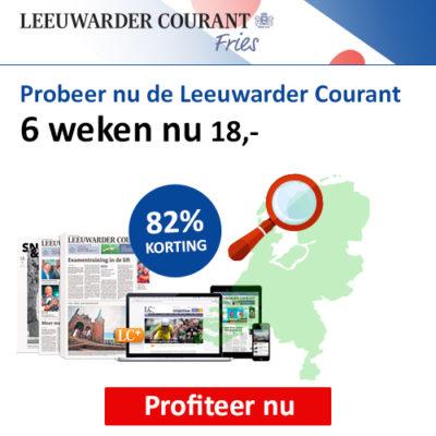 Leeuwarder Courant korting actie abonnement