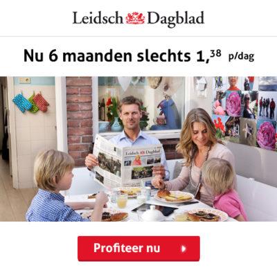 Leidsch Dagblad 6 maanden abonnement korting