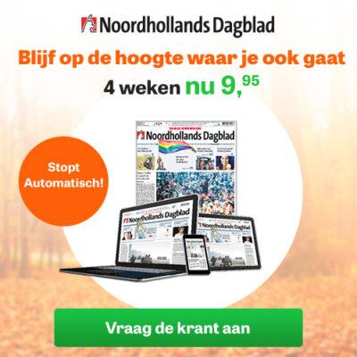 Noordhollands dagblad korting abonnement
