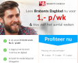 Brabants Dagblad abonnement aanbieding! 4 weken lang voor maar €1,- per week!