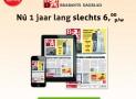 Brabants Dagblad abonnement aanbieding €6,00 per week 52% korting!