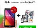 De Gelderlander abonnement aanbieding €6,75 per week 46% korting! GRATIS Asus tablet ZenPad C7.0!