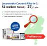 Leeuwarder Courant jaar abonnement Alles-in-1 aanbieding slechts €27,- per maand! 44% korting