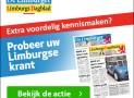 De Limburger of het Limburgs dagblad abonnement aanbieding 5 weken voor slechts €3,- per week!