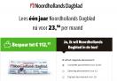 Noordhollands Dagblad abonnement €5,42 per week | Jaar abonnement | €113 korting!