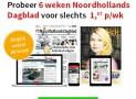 Noordhollands Dagblad 6 weken voor slechts €1,67 per week!