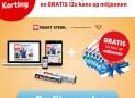 AD 1 jaar voor maar €5,99 per week + 6 1/5 staatsloten cadeau