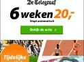De Telegraaf sportzomer aanbieding! 6 weken voor maar €20,-
