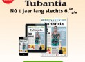 Tubantia 1 jaar aanbieding €6,00 per week 52% korting