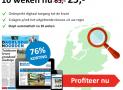 Dagblad van het Noorden abonnement 10 weken voor maar €25,- 76% korting!
