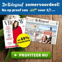 De Telegraaf op proef met 70% korting voor maar €3,50 per week