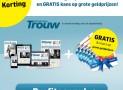Dagblad Trouw 1 jaar abonnement voor maar €7,25 per week en ontvang 6 1/5 staatsloten