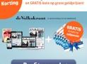 de Volkskrant 1 jaar aanbieding €6,50 per week 61% korting en gratis 6x 1/5 staatslot
