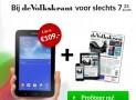 de Volkskrant 2 jaar abonnement met 56% korting & gratis Samsung Galaxy Tab 3