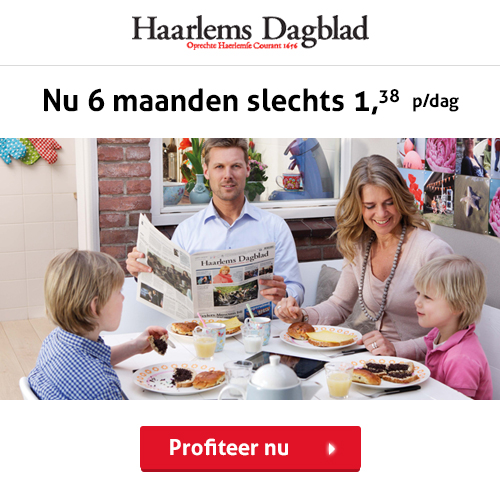 Haarlems half Jaar abonnement korting