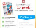 AD 4 weken voor maar €1,- per week! Algemeen Dagblad abonnement