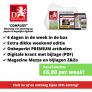 Brabants Dagblad abonnement vanaf slechts €6,00 per week.
