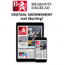 Brabants Dagblad digitaal abonnement aanbieding €3,75 per week