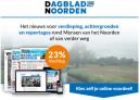 Dagblad van het Noorden digitaal abonnement slechts €3,92 per week!