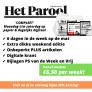 Het Parool abonnement aanbieding. Nu slechts €6,50 per week actie!