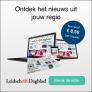 Leidsch Dagblad abonnement €18,50 per maand! €253,- korting per jaar!
