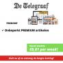 Telegraaf PREMIUM abonnement afsluiten met korting! Nu vanaf slechts €0,81 per week!
