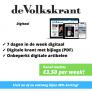 de Volkskrant DIGITAAL abonnement aanbieding slechts €3,50 per week!