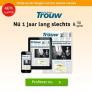 Dagblad Trouw jaar abonnement slechts €6,50 per week