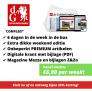 De Gelderlander abonnement met korting! Vanaf slechts €6,00 per week!