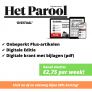 Het Parool 'Digitaal' abonnement voor slechts €2,75 per week.